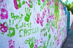 Graffiti wall Stock Photography