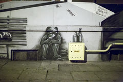 Graffiti on the wall. Royalty Free Stock Image