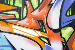 Graffiti on a wall Stock Photography
