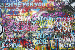 Graffiti wall Stock Images