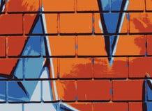Graffiti wall - Vector Royalty Free Stock Images