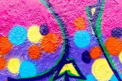 Graffiti świat Fotografia Stock