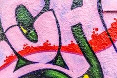 Graffiti świat Zdjęcie Royalty Free