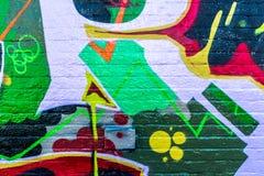 Graffiti świat Obraz Stock