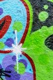 Graffiti świat Zdjęcia Royalty Free