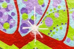Graffiti świat Obraz Royalty Free