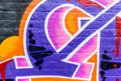 Graffiti świat Zdjęcie Stock