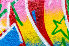 Graffiti World. Graffiti Art From Around The World Royalty Free Stock Image