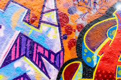 Graffiti World. Graffiti Art From Around The World Royalty Free Stock Photos