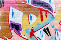 Graffiti World. Graffiti Art From Around The World Royalty Free Stock Images