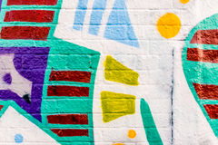 Graffiti World 12132016 Stock Photography