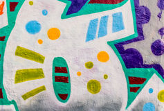 Graffiti World 12132016 Stock Photo