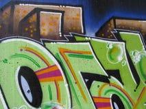 Graffiti writing Stock Images