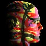 graffiti zakrywający mężczyzna ilustracja wektor