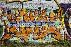 Graffiti zo 36 Stock Foto