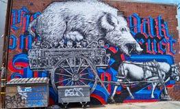 Graffitiart. Royalty-vrije Stock Foto's