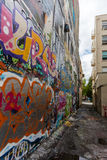 Graffitiart. stock foto