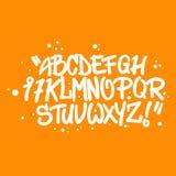 Graffitiart-Alphabetbuchstaben Lizenzfreie Stockfotos