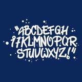 Graffitiart-Alphabetbuchstaben Stockbild