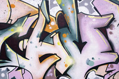 Graffitidetail Lizenzfreie Stockfotos