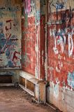 graffitied bunker się Obraz Stock