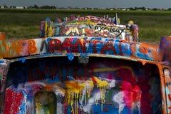 Graffitied Cadillacs Стоковые Изображения RF