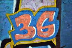 Graffitielement Royalty-vrije Stock Afbeeldingen