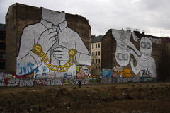 Graffities Royalty Free Stock Photo