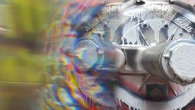 Graffitigezicht Stock Foto