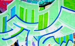 Graffitihintergrund Lizenzfreie Stockbilder