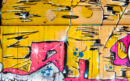 Graffitihintergrund Stockbild