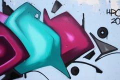 Graffitihintergrund Lizenzfreies Stockbild