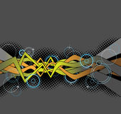 Graffitihintergrundauslegung Lizenzfreies Stockfoto