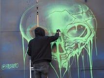 Graffitikünstler Stockfotografie