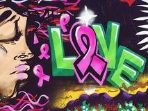 Graffitiliebe Lizenzfreies Stockbild