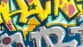 Graffitilijnen en Kleuren Stock Afbeelding