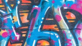 Graffitilijnen en Kleuren Royalty-vrije Stock Foto