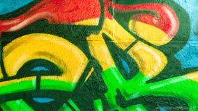 Graffitilijnen en Kleuren Royalty-vrije Stock Foto's