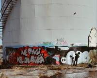 Graffitimaker royalty-vrije stock afbeelding