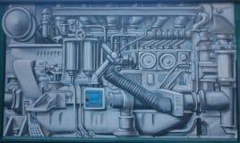 Graffitimechanismus Lizenzfreies Stockbild