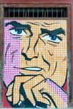 Graffitimens Stock Afbeeldingen