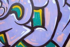 Graffitimuur Royalty-vrije Stock Foto's