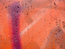 Graffitinahaufnahme Lizenzfreies Stockbild