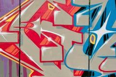 Graffitiphantasie Stockfoto