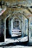 Graffitipijler Stock Foto's