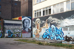 Graffitis Stockfotos