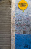 Graffitis no la Bodeguita del Medio Fotografia de Stock