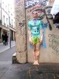 Graffitis in Paris Royalty Free Stock Photos