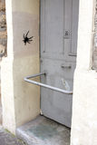 Graffitis in Paris Royalty Free Stock Image