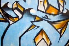 Graffitislagen 2 royalty-vrije stock afbeelding